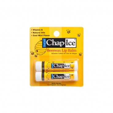 ORALABS Chap Ice Dr Beeswax Lip Balm 4.25GX2