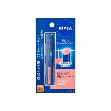 NIVEA Rich Pink Lipstick french Pink PC
