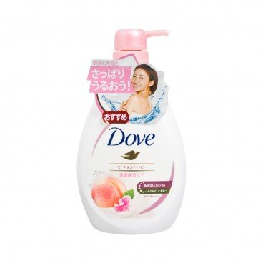 DOVE Peach Deep Moisturizing Body Soap 500G