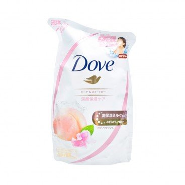 DOVE(PARALLEL IMPORT) - Peach Deep Moisturizing Body Soap Refill - 360G