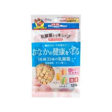 DOGGYMAN Chicken Cheese With Lactic Acid Bacteria Cube 120G