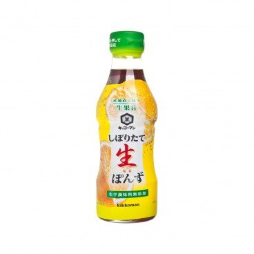 KIKKOMAN Freshly Citrus Lighter Soy Sauce 360ML