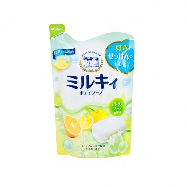 COW - Body Soap yuzu Refill - 400ML