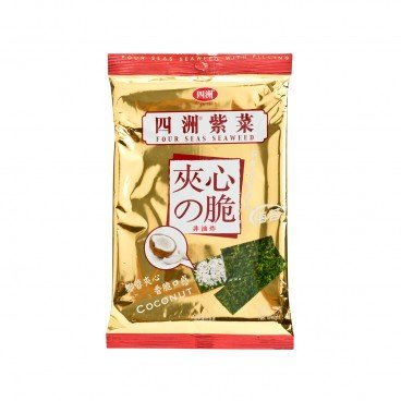 FOUR SEAS Seaweed With Filling Coconut 15G