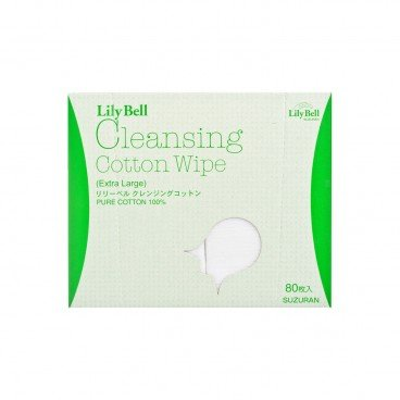LILY BELL Cleansing Cotton Wipe 80'S