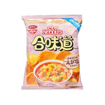 CUP NOODLE POTATO CHIPS-SHRIMP & SALT FLAVOR