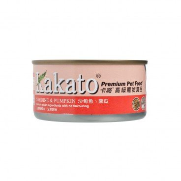 KAKATO Sardine Head Pumpkin In Jelly 170G