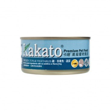 KAKATO Chicken Tuna Vegetables 170G