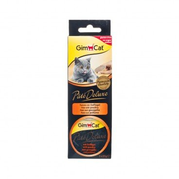 GIMCAT Pate  Deluxe Con With Poultry 21GX3
