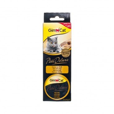 GIMCAT Pate Deluxe Con With Veal 21GX3