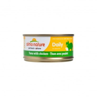 ALMO NATURE Daily Hfc Tuna With Chicken 70G