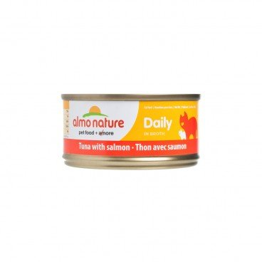 ALMO NATURE Daily Hfc Tuna With Salmon 70G
