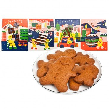 GINGERBREAD MAN GO AROUND GIFT PACK