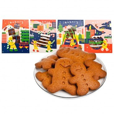 GINGERBREAD MAN GO AROUND COLLECTION