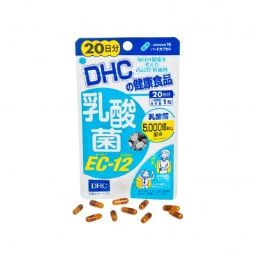 DHC(PARALLEL IMPORTED) - Lactobacillus Supplement Intestin Support Ec 12 20 Days - 20'S