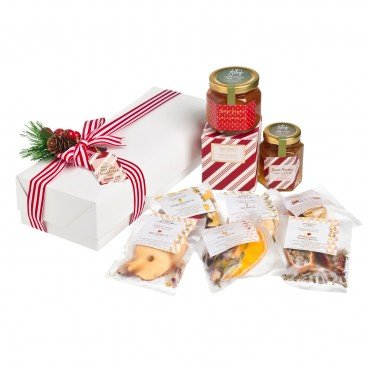CHRISTMAS GIFT SET-JAM+TEA