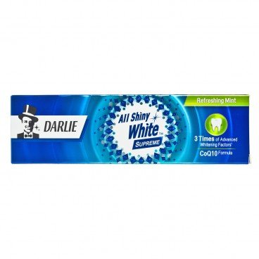 DARLIE - All Shiny White Supreme Toothpaste refreshing Mint - 120G