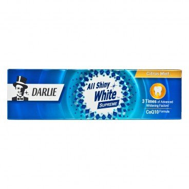 DARLIE All Shiny White Supreme Toothpaste citrus Mint 120G