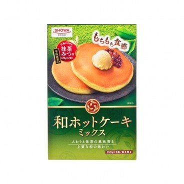 SHOWA - Pancake Mix Japan Hot Cake Mix Green Tea Taste - 150GX2