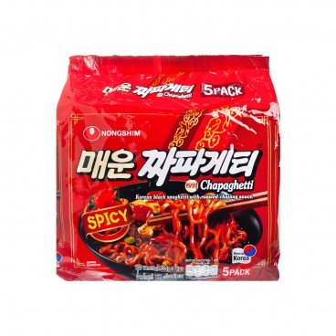 NONG SHIM Spicy Chapaghetti Noodle 137GX5