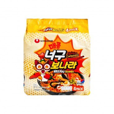 SPICY CARBONARA SEAFOOD FLAVOR DRIED NOODLE