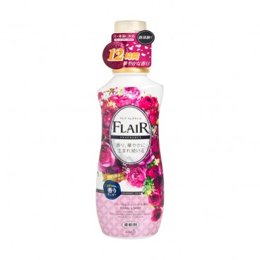 KAO - Flair Fragrance 12 Hours Fabric Softener floral Sweet - 570ML