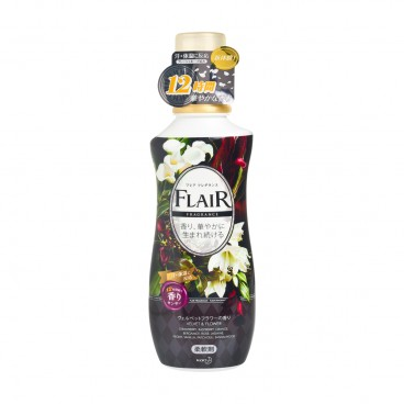 KAO - Flair Fragrance 12 Hours Fabric Softener velvet Flower - 570ML
