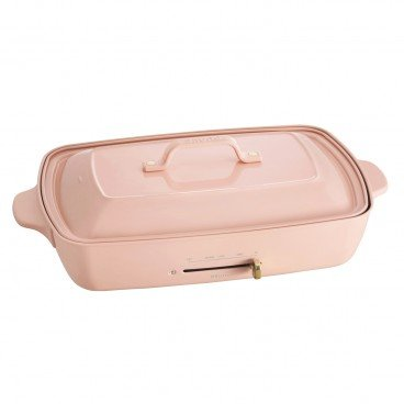 BRUNO Hot Plate Grande Size pale Pink PC