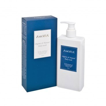 AMOFIA - Organic Natural Hypoallergenic Adult Body Wash - 300ML