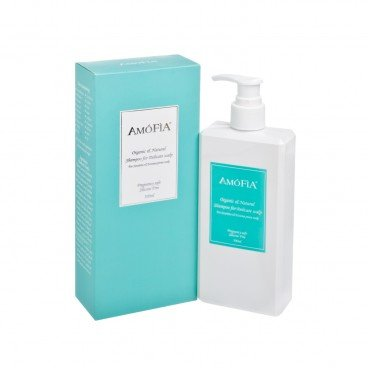 AMOFIA - Organic Natural Shampoo For Delicate Scalp - 300ML