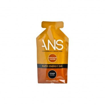 ANS Rapid Engery Gel chocolate Added Caffeine 45G