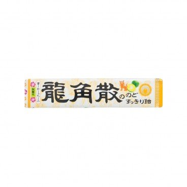 RYUKAKUSAN Stick Throat Candy lemon Flavor 42G