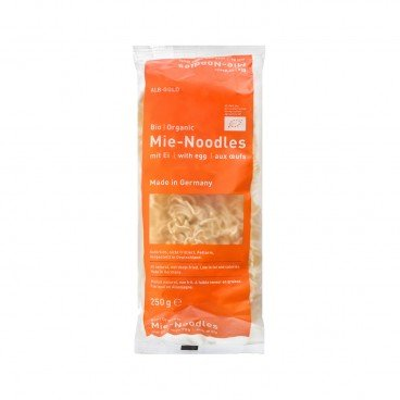 ALB-GOLD Organic Mie Noodles With Eggs 250G