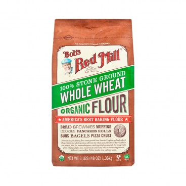 BOB'S RED MILL Organic Whole Wheatflour 1.36KG