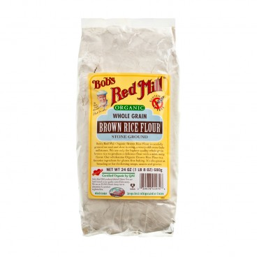 BOB'S RED MILL Organic Brown Rice Flour Gluten Free 680G
