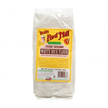 BOB'S RED MILL Organic White Rice Flour Gluten Free 680G