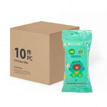 DETTOL Anti Bacterial Wet Wipes line Friends 10'SX10