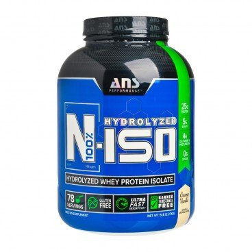 ADVANCED NUTRACEUTICAL SCIENCES N iso whey Isolate Protein vanilla 2.27KG
