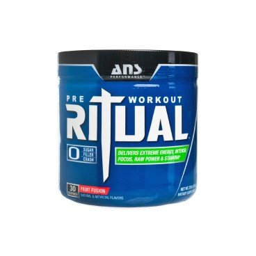 ADVANCED NUTRACEUTICAL SCIENCES Ritual pre workout Supplement fruit Fusion 270G