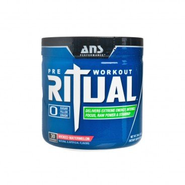 ADVANCED NUTRACEUTICAL SCIENCES Ritual pre workout Supplement wicked Watermelon 240G