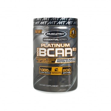 MUSCLETECH Essential Series platium Branched chain Amino Acid 200'S