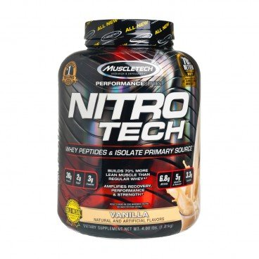 MUSCLETECH Nitrotech protein Powder milk Chocolate 1.8KG