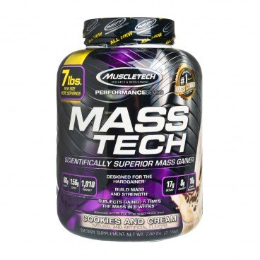 MUSCLETECH Mass Tech protein Powder cookie Cream 3.18KG