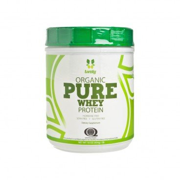 LIVELY Organic Whey Protein 454G
