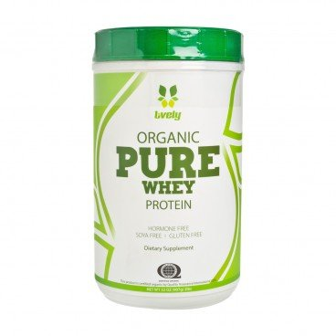 LIVELY Organic Whey Protein 907G