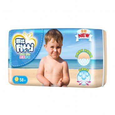 FITTI Ultra Slim Diaper L 58'S