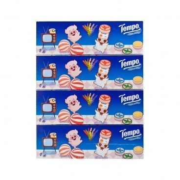 TEMPO得寶 Facial Box Tissue neutral Hk Classic Toys Limited Edition 4'S