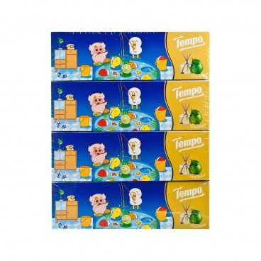 TEMPO得寶 - Facial Box Tissue citrus Blossom Hk Classic Toys Limited Edition - 4'S