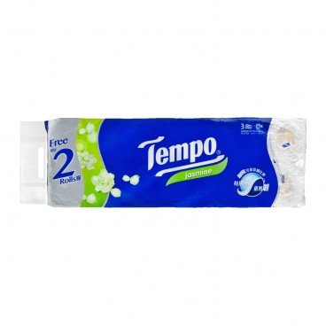 TEMPO得寶 Bathroom Tissue 3 Ply Bonus Pack jasmine 12'S
