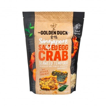 THE GOLDEN DUCK - Salted Egg Crab Seaweed Tempura - 110G